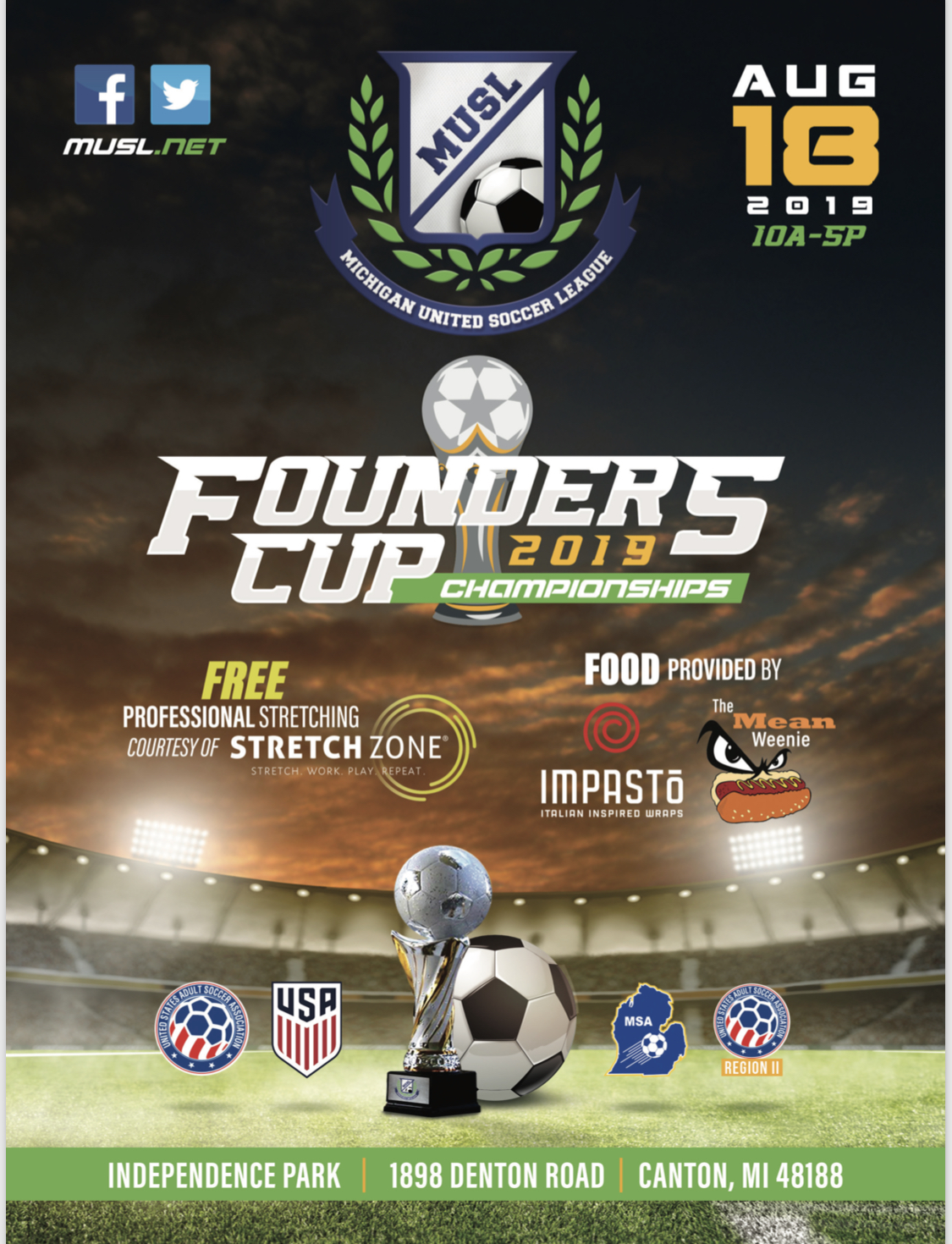 2019 Founder's Cup